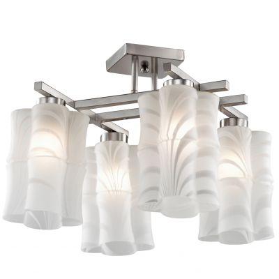 Люстра Odeon light 2437/4CПотолочные<br>Компания «Светодом» предлагает широкий ассортимент люстр от известных производителей. Представленные в нашем каталоге товары выполнены из современных материалов и обладают отличным качеством. Благодаря широкому ассортименту Вы сможете найти у нас люстру под любой интерьер. Мы предлагаем как классические варианты, так и современные модели, отличающиеся лаконичностью и простотой форм. <br>Стильная люстра Odeon light 2437/4C  станет украшением любого дома. Эта модель от известного производителя не оставит равнодушным ценителей красивых и оригинальных предметов интерьера. Люстра Odeon light 2437/4C  обеспечит равномерное распределение света по всей комнате. При выборе обратите внимание на характеристики, позволяющие приобрести наиболее подходящую модель. <br>Купить понравившуюся люстру по доступной цене Вы можете в интернет-магазине «Светодом».<br><br>Установка на натяжной потолок: Да<br>S освещ. до, м2: 11<br>Крепление: Планка<br>Тип лампы: накаливания / энергосбережения / LED-светодиодная<br>Тип цоколя: E27<br>Цвет арматуры: серый<br>Количество ламп: 4<br>Ширина, мм: 380<br>Длина, мм: 480<br>Высота, мм: 380<br>Оттенок (цвет): белый<br>MAX мощность ламп, Вт: 60