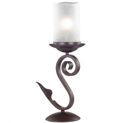 Настольная лампа Odeon light 2438/1TСовременные<br>Настольная лампа – это не просто источник дополнительного освещения, но и оригинальный элемент декора. Его можно установить в спальне, гостиной, кабинете и других комнатах. Интернет-магазин «Светодом» предлагает настольные лампы разных стилей по доступным ценам. Благодаря большому ассортименту Вы обязательно найдете в нашем каталоге именно ту модель, которую искали.   Настольная лампа Odeon light 2438/1T  – прекрасный вариант для завершения интерьера. Ее можно включить одновременно с люстрой для более яркого освещения или без нее для создания уютной атмосферы, настраивающей на отдых.   Купить настольную лампу Odeon light 2438/1T  Вы можете с помощью виртуальной «Корзины» или по контактным номерам, указанным на сайте.<br><br>S освещ. до, м2: 4<br>Тип лампы: накаливания / энергосбережения / LED-светодиодная<br>Тип цоколя: E27<br>Цвет арматуры: коричневый<br>Количество ламп: 1<br>Диаметр, мм мм: 120<br>Высота, мм: 435<br>Оттенок (цвет): белый<br>MAX мощность ламп, Вт: 60