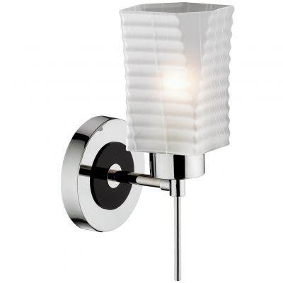 Светильник Odeon light 2442/1WСовременные<br><br><br>S освещ. до, м2: 4<br>Крепление: настенное<br>Тип лампы: накаливания / энергосбережения / LED-светодиодная<br>Тип цоколя: E27<br>Количество ламп: 1<br>Ширина, мм: 150<br>MAX мощность ламп, Вт: 60<br>Высота, мм: 300<br>Оттенок (цвет): белый<br>Цвет арматуры: серый