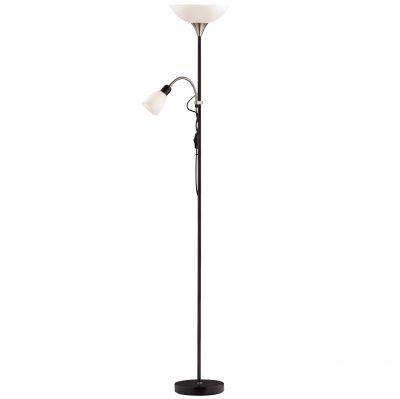 Торшер Odeon light 2463/FСовременные<br>Торшер – это не просто функциональный предмет интерьера, позволяющий обеспечить дополнительное освещение, но и оригинальный декоративный элемент. Интернет-магазин «Светодом» предлагает стильные модели от известных производителей по доступным ценам. У нас Вы найдете и классические напольные светильники, и современные варианты.   Торшер 2463/F Odeon light сразу же привлекает внимание благодаря своему необычному дизайну. Модель выполнена из качественных материалов, что обеспечит ее надежную и долговечную работу. Такой напольный светильник можно использовать для интерьера не только гостиной, но и спальни или кабинета.   Купить торшер 2463/F Odeon light по выгодной стоимости Вы можете с помощью нашего сайта. У нас склады в Москве, Екатеринбурге, Санкт-Петербурге, Новосибирске и другим городам России.<br><br>S освещ. до, м2: 9<br>Тип лампы: накаливания / энергосбережения / LED-светодиодная<br>Тип цоколя: E27/E14<br>Количество ламп: 1<br>Ширина, мм: 230<br>MAX мощность ламп, Вт: 100<br>Высота, мм: 1850<br>Оттенок (цвет): белый<br>Цвет арматуры: серый