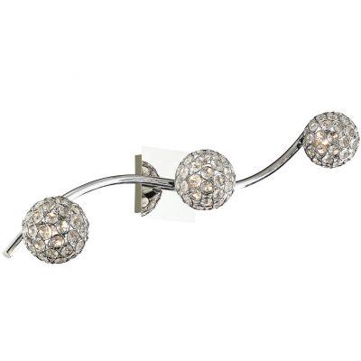Подсветка Odeon light 2472/3WМодерн<br><br><br>S освещ. до, м2: 8<br>Крепление: настенное<br>Тип лампы: галогенная / LED-светодиодная<br>Тип цоколя: G9<br>Количество ламп: 3<br>Ширина, мм: 610<br>MAX мощность ламп, Вт: 40<br>Высота, мм: 145<br>Оттенок (цвет): белый<br>Цвет арматуры: серебристый