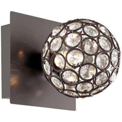 Подсветка Odeon light 2473/1WКруглые<br>Настенно-потолочные светильники – это универсальные осветительные варианты, которые подходят для вертикального и горизонтального монтажа. В интернет-магазине «Светодом» Вы можете приобрести подобные модели по выгодной стоимости. В нашем каталоге представлены как бюджетные варианты, так и эксклюзивные изделия от производителей, которые уже давно заслужили доверие дизайнеров и простых покупателей.  Настенно-потолочный светильник Odeon light 2473/1W станет прекрасным дополнением к основному освещению. Благодаря качественному исполнению и применению современных технологий при производстве эта модель будет радовать Вас своим привлекательным внешним видом долгое время.  Приобрести настенно-потолочный светильник Odeon light 2473/1W можно, находясь в любой точке России.<br><br>S освещ. до, м2: 2<br>Крепление: настенное<br>Тип лампы: галогенная / LED-светодиодная<br>Тип цоколя: G9<br>Количество ламп: 1<br>Ширина, мм: 100<br>MAX мощность ламп, Вт: 40<br>Расстояние от стены, мм: 120<br>Высота, мм: 100<br>Оттенок (цвет): белый<br>Цвет арматуры: коричневый/хрусталь
