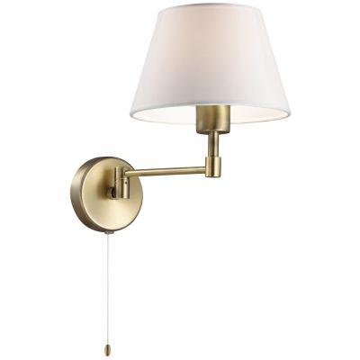 Светильник Odeon light 2481/1Wсовременные бра модерн<br><br><br>S освещ. до, м2: 2<br>Крепление: настенное<br>Тип лампы: накаливания / энергосбережения / LED-светодиодная<br>Тип цоколя: E14<br>Цвет арматуры: бронзовый<br>Количество ламп: 1<br>Ширина, мм: 180<br>Расстояние от стены, мм: 220<br>Высота, мм: 280<br>Оттенок (цвет): белый<br>MAX мощность ламп, Вт: 40