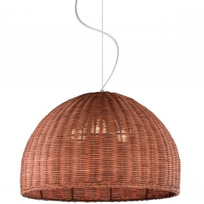 Люстра Odeon light 2489/3Из ротанга и eco<br><br><br>Установка на натяжной потолок: Да<br>S освещ. до, м2: 12<br>Крепление: Планка<br>Тип товара: Люстра<br>Тип лампы: накаливания / энергосбережения / LED-светодиодная<br>Тип цоколя: E27<br>Количество ламп: 3<br>MAX мощность ламп, Вт: 60<br>Диаметр, мм мм: 400<br>Высота, мм: 1000<br>Оттенок (цвет): коричневый<br>Цвет арматуры: серый