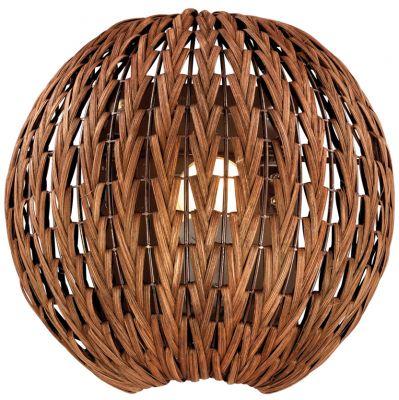 Светильник Odeon light 2491/1WМодерн<br><br><br>S освещ. до, м2: 4<br>Крепление: настенное<br>Тип лампы: накаливания / энергосбережения / LED-светодиодная<br>Тип цоколя: E27<br>Количество ламп: 1<br>Ширина, мм: 240<br>MAX мощность ламп, Вт: 60<br>Высота, мм: 260<br>Оттенок (цвет): коричневый<br>Цвет арматуры: коричневый