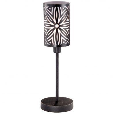 Настольная лампа Odeon light 2501/1TЧерные<br>Настольная лампа – это не просто источник дополнительного освещения, но и оригинальный элемент декора. Его можно установить в спальне, гостиной, кабинете и других комнатах. Интернет-магазин «Светодом» предлагает настольные лампы разных стилей по доступным ценам. Благодаря большому ассортименту Вы обязательно найдете в нашем каталоге именно ту модель, которую искали.   Настольная лампа Odeon light 2501/1T  – прекрасный вариант для завершения интерьера. Ее можно включить одновременно с люстрой для более яркого освещения или без нее для создания уютной атмосферы, настраивающей на отдых.   Купить настольную лампу Odeon light 2501/1T  Вы можете с помощью виртуальной «Корзины» или по контактным номерам, указанным на сайте.<br><br>S освещ. до, м2: 4<br>Тип лампы: накал-я - энергосбер-я<br>Тип цоколя: E27<br>Количество ламп: 1<br>MAX мощность ламп, Вт: 60<br>Диаметр, мм мм: 130<br>Высота, мм: 420<br>Оттенок (цвет): белый<br>Цвет арматуры: коричневый