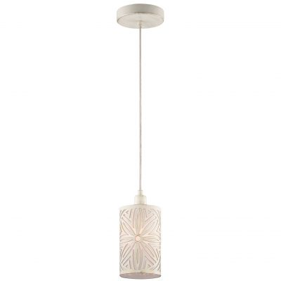 Светильник Odeon light 2502/1Одиночные<br><br><br>Установка на натяжной потолок: Да<br>S освещ. до, м2: 2<br>Крепление: Планка<br>Тип товара: Люстра подвесная<br>Тип лампы: накаливания / энергосбережения / LED-светодиодная<br>Тип цоколя: E14<br>Количество ламп: 1<br>MAX мощность ламп, Вт: 40<br>Диаметр, мм мм: 130<br>Высота, мм: 1200<br>Оттенок (цвет): белый<br>Цвет арматуры: бежевый