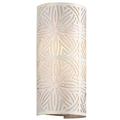 Светильник Odeon light 2502/2WФлористика<br><br><br>S освещ. до, м2: 5<br>Крепление: настенное<br>Тип лампы: накаливания / энергосбережения / LED-светодиодная<br>Тип цоколя: E14<br>Цвет арматуры: бежевый<br>Количество ламп: 2<br>Ширина, мм: 150<br>Высота, мм: 320<br>Оттенок (цвет): белый<br>MAX мощность ламп, Вт: 40