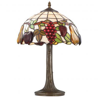 Настольная лампа тиффани Odeon light 2525/1TТиффани<br>Настольная лампа – это не просто источник дополнительного освещения, но и оригинальный элемент декора. Его можно установить в спальне, гостиной, кабинете и других комнатах. Интернет-магазин «Светодом» предлагает настольные лампы разных стилей по доступным ценам. Благодаря большому ассортименту Вы обязательно найдете в нашем каталоге именно ту модель, которую искали. <br> Настольная лампа Odeon light 2525/1T  – прекрасный вариант для завершения интерьера. Ее можно включить одновременно с люстрой для более яркого освещения или без нее для создания уютной атмосферы, настраивающей на отдых. <br> Купить настольную лампу Odeon light 2525/1T  Вы можете с помощью виртуальной «Корзины» или по контактным номерам, указанным на сайте.<br><br>S освещ. до, м2: 4<br>Тип лампы: накаливания / энергосбережения / LED-светодиодная<br>Тип цоколя: E27<br>Цвет арматуры: коричневый<br>Количество ламп: 1<br>Диаметр, мм мм: 310<br>Высота, мм: 470<br>Оттенок (цвет): разноцветный<br>MAX мощность ламп, Вт: 60