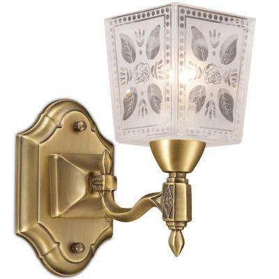 Светильник Odeon light 2564/1WКлассические<br>«Классический» настенный светильник Odeon light 2564/1W станет прекрасным «завершением» светового оформления Вашего интерьера! Все в нем привлекает взгляд и пленяет своей красотой и элегантностью: белый «строгий» плафон с «растительным» рисунком и орнаментом, изящное крепление «теплого» бронзового оттенка, «ненавязчивые» и стильные декоративные элементы. Светильник идеально подойдет в качестве подсветки настенного зеркала, прикроватной тумбочки, туалетного или журнального столика и т.п. Рекомендуем Вам использовать бра в комплекте из нескольких экземпляров, люстрой и настольной лампой из этой же серии, чтобы интерьер выглядел «наполненным», уютным и тщательно подобранным.<br><br>S освещ. до, м2: 4<br>Крепление: настенное<br>Тип лампы: накаливания / энергосбережения / LED-светодиодная<br>Тип цоколя: E14<br>Цвет арматуры: бронзовый<br>Количество ламп: 1<br>Ширина, мм: 120<br>Расстояние от стены, мм: 245<br>Высота, мм: 250<br>Оттенок (цвет): белый<br>MAX мощность ламп, Вт: 60