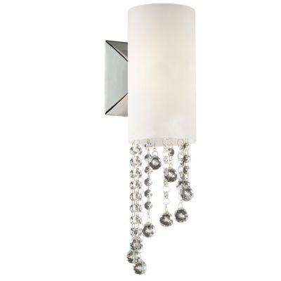 Светильник Odeon light 2571/1WХай-тек<br><br><br>S освещ. до, м2: 2<br>Крепление: настенное<br>Тип лампы: галогенная / LED-светодиодная<br>Тип цоколя: G9<br>Цвет арматуры: серебристый<br>Количество ламп: 1<br>Ширина, мм: 120<br>Высота, мм: 400<br>Оттенок (цвет): белый<br>MAX мощность ламп, Вт: 40