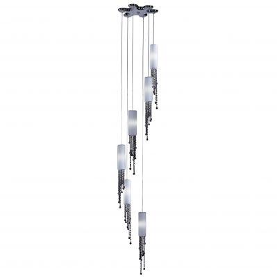 Люстра Odeon light 2571/6подвесные люстры хай тек<br>Компания «Светодом» предлагает широкий ассортимент люстр от известных производителей. Представленные в нашем каталоге товары выполнены из современных материалов и обладают отличным качеством. Благодаря широкому ассортименту Вы сможете найти у нас люстру под любой интерьер. Мы предлагаем как классические варианты, так и современные модели, отличающиеся лаконичностью и простотой форм. <br>Стильная люстра Odeon light 2571/6 станет украшением любого дома. Эта модель от известного производителя не оставит равнодушным ценителей красивых и оригинальных предметов интерьера. Люстра Odeon light 2571/6 обеспечит равномерное распределение света по всей комнате. При выборе обратите внимание на характеристики, позволяющие приобрести наиболее подходящую модель. <br>Купить понравившуюся люстру по доступной цене Вы можете в интернет-магазине «Светодом».<br><br>Установка на натяжной потолок: Да<br>S освещ. до, м2: 16<br>Крепление: Планка<br>Тип лампы: галогенная / LED-светодиодная<br>Тип цоколя: G9<br>Цвет арматуры: серебристый<br>Количество ламп: 6<br>Диаметр, мм мм: 420<br>Высота, мм: 3600<br>Оттенок (цвет): белый<br>MAX мощность ламп, Вт: 40