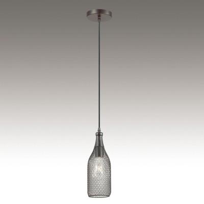 Светильник Odeon light 3353/1одиночные подвесные светильники<br><br><br>S освещ. до, м2: 3<br>Тип лампы: Накаливания / энергосбережения / светодиодная<br>Тип цоколя: E27<br>Количество ламп: 1<br>Диаметр, мм мм: 120<br>Высота, мм: 1385<br>MAX мощность ламп, Вт: 60