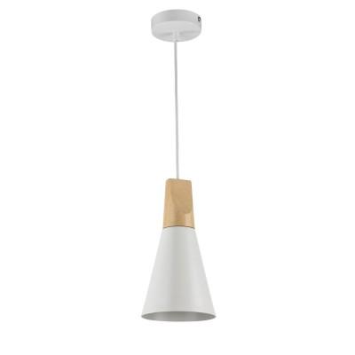 Подвес Maytoni P359-PL-140-W BiconesОдиночные<br><br><br>Тип лампы: Накаливания / энергосбережения / светодиодная<br>Тип цоколя: E27<br>Цвет арматуры: Белый<br>Количество ламп: 1<br>Диаметр, мм мм: 140<br>Высота полная, мм: 1420<br>Высота, мм: 165<br>MAX мощность ламп, Вт: 60