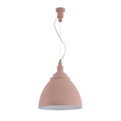 Подвесной светильник Maytoni P535PL-01PN Bellevue PendantОдиночные<br><br><br>Тип лампы: Накаливания / энергосбережения / светодиодная<br>Тип цоколя: E27<br>Цвет арматуры: Розовый<br>Количество ламп: 1<br>Диаметр, мм мм: 350<br>Высота полная, мм: 1875<br>Высота, мм: 375<br>Поверхность арматуры: матовая<br>Оттенок (цвет): Розовый<br>MAX мощность ламп, Вт: 60