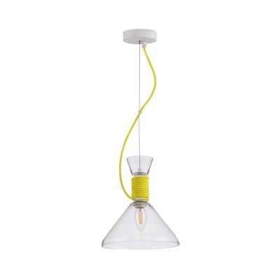 Подвес Maytoni P536PL-01YW Californiaодиночные подвесные светильники<br><br><br>Тип лампы: Накаливания / энергосбережения / светодиодная<br>Тип цоколя: E14<br>Цвет арматуры: Желтый<br>Количество ламп: 1<br>Диаметр, мм мм: 225<br>Высота полная, мм: 1300<br>Высота, мм: 250<br>Поверхность арматуры: матовая<br>Оттенок (цвет): желтый<br>MAX мощность ламп, Вт: 40