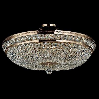 Люстра Maytoni DIA700-CL-12-G Diamant 4Потолочные<br>Каждое творение немецкого производителя Maytoni заставляет не просто удивиться, но и поразиться дизайну и низкой стоимости очередной потолочной люстры. Так, хрустальная потолочная люстра Maytoni Diamant Crystal DIA700-CL-12-G состоит из хрустальных подвесок, собранных в полусферу. На фото видно, что расположены они очень близко друг к другу, поэтому свет от 12 ламп будет эффектно преломляться в разные стороны. Золотистая поверхность металлического каркаса очень хорошо отражает свет, исходящий от ламп. Купить такую хрустальную потолочную люстру от Майтони лучше всего в большую гостиную, а дополнить световой рисунок можно аналогичными бра из этой же коллекции. Их вы можете также найти на нашем сайте по ценам, указанным над характеристиками.<br><br>Установка на натяжной потолок: Да<br>S освещ. до, м2: 48<br>Крепление: Планка<br>Тип лампы: накаливания / энергосбережения / LED-светодиодная<br>Тип цоколя: E14<br>Цвет арматуры: золотой<br>Количество ламп: 12<br>Диаметр, мм мм: 650<br>Высота, мм: 255<br>MAX мощность ламп, Вт: 60