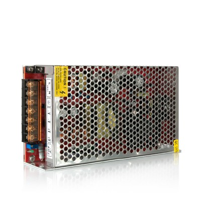 Блок питания LED STRIP PS 150W 12VБлоки питания<br><br><br>Ширина, мм: 95<br>MAX мощность ламп, Вт: 150<br>Длина, мм: 205<br>Высота, мм: 42