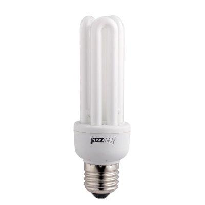 Лампа JaZZway 3U 20W/840 E27Спираль 3U<br>В интернет-магазине «Светодом» можно купить не только люстры и светильники, но и лампочки. В нашем каталоге представлены светодиодные, галогенные, энергосберегающие модели и лампы накаливания. В ассортименте имеются изделия разной мощности, поэтому у нас Вы сможете приобрести все необходимое для освещения.   Лампа JaZZway 3U 20W/840 E27 обеспечит отличное качество освещения. При покупке ознакомьтесь с параметрами в разделе «Характеристики», чтобы не ошибиться в выборе. Там же указано, для каких осветительных приборов Вы можете использовать лампу JaZZway 3U 20W/840 E27JaZZway 3U 20W/840 E27.   Для оформления покупки воспользуйтесь «Корзиной». При наличии вопросов Вы можете позвонить нашим менеджерам по одному из контактных номеров. Мы доставляем заказы в Москву, Екатеринбург и другие города России.<br><br>Цветовая t, К: CW - холодный белый 4000 К<br>Тип лампы: Энергосберегающая<br>Тип цоколя: E27<br>MAX мощность ламп, Вт: 20<br>Диаметр, мм мм: 42<br>Высота, мм: 136