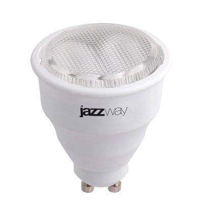 Лампа JaZZway GU10 T2 7W/840Спиральные<br>В интернет-магазине «Светодом» можно купить не только люстры и светильники, но и лампочки. В нашем каталоге представлены светодиодные, галогенные, энергосберегающие модели и лампы накаливания. В ассортименте имеются изделия разной мощности, поэтому у нас Вы сможете приобрести все необходимое для освещения. <br> Лампа JaZZway GU10 T2 7W/840 обеспечит отличное качество освещения. При покупке ознакомьтесь с параметрами в разделе «Характеристики», чтобы не ошибиться в выборе. Там же указано, для каких осветительных приборов Вы можете использовать лампу JaZZway GU10 T2 7W/840JaZZway GU10 T2 7W/840. <br> Для оформления покупки воспользуйтесь «Корзиной». При наличии вопросов Вы можете позвонить нашим менеджерам по одному из контактных номеров. Мы доставляем заказы в Москву, Екатеринбург и другие города России.<br><br>Цветовая t, К: CW - холодный белый 4000 К<br>Тип лампы: Энергосберегающая<br>Тип цоколя: GU10<br>MAX мощность ламп, Вт: 7<br>Диаметр, мм мм: 50<br>Высота, мм: 60