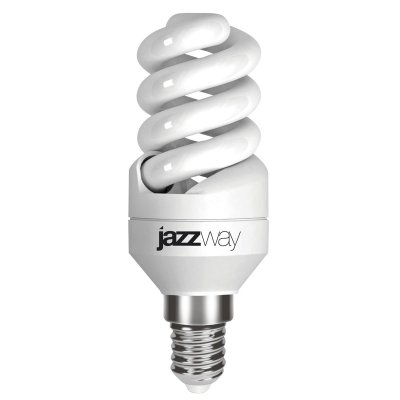 Лампа Jazzway PESL-SF2s 9W/827 E14Спиральные<br>В интернет-магазине «Светодом» можно купить не только люстры и светильники, но и лампочки. В нашем каталоге представлены светодиодные, галогенные, энергосберегающие модели и лампы накаливания. В ассортименте имеются изделия разной мощности, поэтому у нас Вы сможете приобрести все необходимое для освещения.   Лампа Jazzway PESL-SF2s 9W/827 E14 обеспечит отличное качество освещения. При покупке ознакомьтесь с параметрами в разделе «Характеристики», чтобы не ошибиться в выборе. Там же указано, для каких осветительных приборов Вы можете использовать лампу Jazzway PESL-SF2s 9W/827 E14Jazzway PESL-SF2s 9W/827 E14.   Для оформления покупки воспользуйтесь «Корзиной». При наличии вопросов Вы можете позвонить нашим менеджерам по одному из контактных номеров. Мы доставляем заказы в Москву, Екатеринбург и другие города России.<br><br>Цветовая t, К: WW - теплый белый 2700-3000 К<br>Тип лампы: Энергосберегающая<br>Тип цоколя: E14<br>MAX мощность ламп, Вт: 9<br>Диаметр, мм мм: 34<br>Высота, мм: 96
