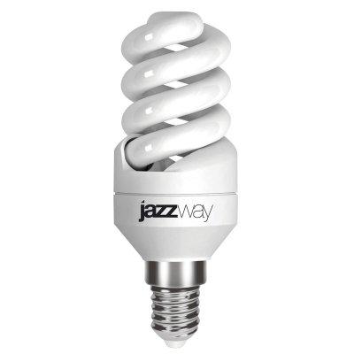 Лампа Jazzway PESL-SF2s 9W/840 E14Спиральные<br>В интернет-магазине «Светодом» можно купить не только люстры и светильники, но и лампочки. В нашем каталоге представлены светодиодные, галогенные, энергосберегающие модели и лампы накаливания. В ассортименте имеются изделия разной мощности, поэтому у нас Вы сможете приобрести все необходимое для освещения.   Лампа Jazzway PESL-SF2s 9W/840 E14 обеспечит отличное качество освещения. При покупке ознакомьтесь с параметрами в разделе «Характеристики», чтобы не ошибиться в выборе. Там же указано, для каких осветительных приборов Вы можете использовать лампу Jazzway PESL-SF2s 9W/840 E14Jazzway PESL-SF2s 9W/840 E14.   Для оформления покупки воспользуйтесь «Корзиной». При наличии вопросов Вы можете позвонить нашим менеджерам по одному из контактных номеров. Мы доставляем заказы в Москву, Екатеринбург и другие города России.<br><br>Цветовая t, К: CW - холодный белый 4000 К<br>Тип лампы: Энергосберегающая<br>Тип цоколя: E14<br>MAX мощность ламп, Вт: 9<br>Диаметр, мм мм: 34<br>Высота, мм: 96