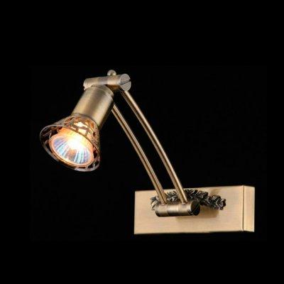 Светильник Maytoni PIC120-01-R Picture 10На штанге<br>В интернет-магазине «Светодом» представлен широкий выбор настенных бра по привлекательной цене. Это качественные товары от популярных мировых производителей. Благодаря большому ассортименту Вы обязательно подберете под свой интерьер наиболее подходящий вариант.  Оригинальное настенное бра Maytoni PIC120-01-R можно использовать для освещения не только гостиной, но и прихожей или спальни. Модель выполнена из современных материалов, поэтому прослужит на протяжении долгого времени. Обратите внимание на технические характеристики, чтобы сделать правильный выбор.  Чтобы купить настенное бра Maytoni PIC120-01-R в нашем интернет-магазине, воспользуйтесь «Корзиной» или позвоните менеджерам компании «Светодом» по указанным на сайте номерам. Мы доставляем заказы по Москве, Екатеринбургу и другим российским городам.<br><br>S освещ. до, м2: 2<br>Тип лампы: галогенная / LED-светодиодная<br>Тип цоколя: GU10<br>Количество ламп: 1<br>Ширина, мм: 200<br>MAX мощность ламп, Вт: 35<br>Длина, мм: 160<br>Цвет арматуры: бронзовый
