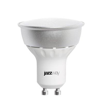 Лампа Jazzway PLED-Combi-GU10 5W 3000KЗеркальные Gu10<br>В интернет-магазине «Светодом» можно купить не только люстры и светильники, но и лампочки. В нашем каталоге представлены светодиодные, галогенные, энергосберегающие модели и лампы накаливания. В ассортименте имеются изделия разной мощности, поэтому у нас Вы сможете приобрести все необходимое для освещения.   Лампа Jazzway PLED-Combi-GU10 5W 3000K  обеспечит отличное качество освещения. При покупке ознакомьтесь с параметрами в разделе «Характеристики», чтобы не ошибиться в выборе. Там же указано, для каких осветительных приборов Вы можете использовать лампу Jazzway PLED-Combi-GU10 5W 3000K Jazzway PLED-Combi-GU10 5W 3000K .   Для оформления покупки воспользуйтесь «Корзиной». При наличии вопросов Вы можете позвонить нашим менеджерам по одному из контактных номеров. Мы доставляем заказы в Москву, Екатеринбург и другие города России.<br><br>Цветовая t, К: 3000<br>Тип лампы: LED - светодиодная<br>Тип цоколя: GU10<br>MAX мощность ламп, Вт: 5<br>Диаметр, мм мм: 50<br>Высота, мм: 52