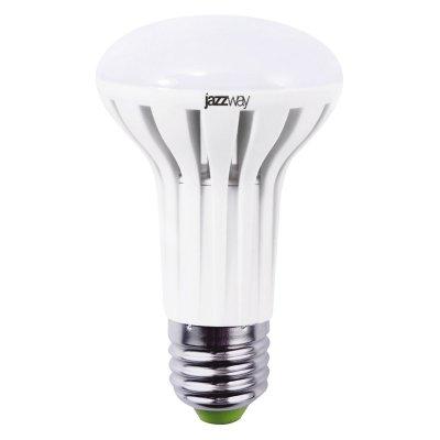 Лампа зеркальная Jazzway PLED- ECO-R63/PW 5.5w E27 2700KЗеркальные E27, E14<br>В интернет-магазине «Светодом» можно купить не только люстры и светильники, но и лампочки. В нашем каталоге представлены светодиодные, галогенные, энергосберегающие модели и лампы накаливания. В ассортименте имеются изделия разной мощности, поэтому у нас Вы сможете приобрести все необходимое для освещения.   Лампа зеркальная Jazzway PLED- ECO-R63/PW 5.5w E27 2700K обеспечит отличное качество освещения. При покупке ознакомьтесь с параметрами в разделе «Характеристики», чтобы не ошибиться в выборе. Там же указано, для каких осветительных приборов Вы можете использовать лампу зеркальная Jazzway PLED- ECO-R63/PW 5.5w E27 2700Kзеркальная Jazzway PLED- ECO-R63/PW 5.5w E27 2700K.   Для оформления покупки воспользуйтесь «Корзиной». При наличии вопросов Вы можете позвонить нашим менеджерам по одному из контактных номеров. Мы доставляем заказы в Москву, Екатеринбург и другие города России.<br><br>Цветовая t, К: WW - теплый белый 2700-3000 К<br>Тип лампы: LED - светодиодная<br>Тип цоколя: E27<br>MAX мощность ламп, Вт: 5,5<br>Диаметр, мм мм: 63<br>Высота, мм: 104