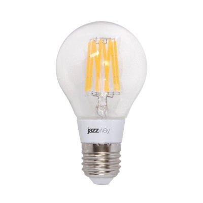 Лампа филаментная Jazzway PLED-OMNI-A60 4w E27 2700KРетро стиля<br>В интернет-магазине «Светодом» можно купить не только люстры и светильники, но и лампочки. В нашем каталоге представлены светодиодные, галогенные, энергосберегающие модели и лампы накаливания. В ассортименте имеются изделия разной мощности, поэтому у нас Вы сможете приобрести все необходимое для освещения.   Лампа Jazzway PLED-OMNI-A60 4w E27 2700K обеспечит отличное качество освещения. При покупке ознакомьтесь с параметрами в разделе «Характеристики», чтобы не ошибиться в выборе. Там же указано, для каких осветительных приборов Вы можете использовать лампу Jazzway PLED-OMNI-A60 4w E27 2700KJazzway PLED-OMNI-A60 4w E27 2700K.   Для оформления покупки воспользуйтесь «Корзиной». При наличии вопросов Вы можете позвонить нашим менеджерам по одному из контактных номеров. Мы доставляем заказы в Москву, Екатеринбург и другие города России.<br><br>Цветовая t, К: WW - теплый белый 2700-3000 К<br>Тип цоколя: E27<br>MAX мощность ламп, Вт: 4<br>Диаметр, мм мм: 50<br>Высота, мм: 90