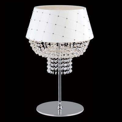 Настольная лампа Crystal lux PORTOFINO LG1 2730/501хрустальные настольные лампы<br>Настольная лампа – это не просто источник дополнительного освещения, но и оригинальный элемент декора. Его можно установить в спальне, гостиной, кабинете и других комнатах. Интернет-магазин «Светодом» предлагает настольные лампы разных стилей по доступным ценам. Благодаря большому ассортименту Вы обязательно найдете в нашем каталоге именно ту модель, которую искали. <br> Настольная лампа Crystal lux PORTOFINO LG1 – прекрасный вариант для завершения интерьера. Ее можно включить одновременно с люстрой для более яркого освещения или без нее для создания уютной атмосферы, настраивающей на отдых. <br> Купить настольную лампу Crystal lux PORTOFINO LG1 Вы можете с помощью виртуальной «Корзины» или по контактным номерам, указанным на сайте.<br><br>Тип цоколя: E27<br>Цвет арматуры: Серебристый хром<br>Количество ламп: 1<br>Диаметр, мм мм: 350<br>Высота, мм: 550<br>MAX мощность ламп, Вт: 60