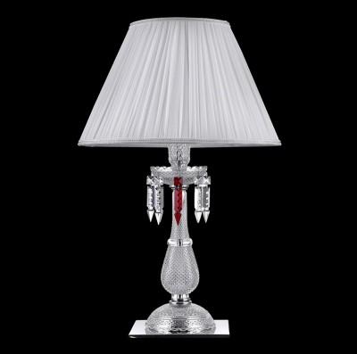 Настольная лампа Crystal lux PRINCESS LG1 2760/501Хрустальные<br>Настольная лампа – это не просто источник дополнительного освещения, но и оригинальный элемент декора. Его можно установить в спальне, гостиной, кабинете и других комнатах. Интернет-магазин «Светодом» предлагает настольные лампы разных стилей по доступным ценам. Благодаря большому ассортименту Вы обязательно найдете в нашем каталоге именно ту модель, которую искали.   Настольная лампа Crystal lux PRINCESS LG1 – прекрасный вариант для завершения интерьера. Ее можно включить одновременно с люстрой для более яркого освещения или без нее для создания уютной атмосферы, настраивающей на отдых.   Купить настольную лампу Crystal lux PRINCESS LG1 Вы можете с помощью виртуальной «Корзины» или по контактным номерам, указанным на сайте.<br><br>Тип цоколя: E14<br>Цвет арматуры: Серебристый хром<br>Количество ламп: 1<br>Диаметр, мм мм: 420<br>Высота, мм: 650<br>MAX мощность ламп, Вт: 60