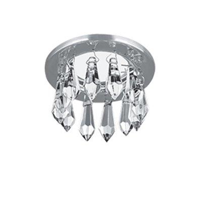 Светильник Gauss Brilliance PT001, Кристалл/Хром, Gu5.3Хрустальные<br>Встраиваемые светильники – популярное осветительное оборудование, которое можно использовать в качестве основного источника или в дополнение к люстре. Они позволяют создать нужную атмосферу атмосферу и привнести в интерьер уют и комфорт.   Интернет-магазин «Светодом» предлагает стильный встраиваемый светильник Gauss Brilliance PT001. Данная модель достаточно универсальна, поэтому подойдет практически под любой интерьер. Перед покупкой не забудьте ознакомиться с техническими параметрами, чтобы узнать тип цоколя, площадь освещения и другие важные характеристики.   Приобрести встраиваемый светильник Gauss Brilliance PT001 в нашем онлайн-магазине Вы можете либо с помощью «Корзины», либо по контактным номерам. Мы развозим заказы по Москве, Екатеринбургу и остальным российским городам.<br><br>S освещ. до, м2: 3<br>Тип лампы: галогенная/LED<br>Тип цоколя: GU5.3 (MR16)<br>Количество ламп: 1<br>MAX мощность ламп, Вт: 50<br>Диаметр, мм мм: 85<br>Диаметр врезного отверстия, мм: 60<br>Высота, мм: 80<br>Цвет арматуры: серебристый