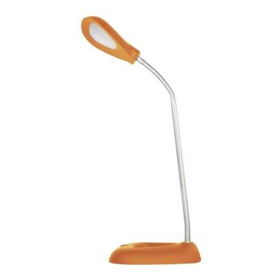 Настольная лампа JaZZway PTL-1128 3W 3000K оранжеваяКоричневые<br><br><br>Тип товара: настольная лампа<br>Цветовая t, К: 3000<br>Тип лампы: LED - светодиодная<br>Количество ламп: 6 LED<br>Диаметр, мм мм: 170<br>Высота, мм: 380