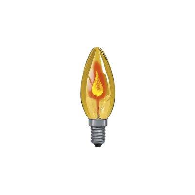 Лампа мерцающая свеча Paulmann 53002Лампы мерцающие<br>В интернет-магазине «Светодом» можно купить не только люстры и светильники, но и лампочки. В нашем каталоге представлены светодиодные, галогенные, энергосберегающие модели и лампы накаливания. В ассортименте имеются изделия разной мощности, поэтому у нас Вы сможете приобрести все необходимое для освещения.   Лампа Paulmann 53002 обеспечит отличное качество освещения. При покупке ознакомьтесь с параметрами в разделе «Характеристики», чтобы не ошибиться в выборе. Там же указано, для каких осветительных приборов Вы можете использовать лампу Paulmann 53002Paulmann 53002.   Для оформления покупки воспользуйтесь «Корзиной». При наличии вопросов Вы можете позвонить нашим менеджерам по одному из контактных номеров. Мы доставляем заказы в Москву, Екатеринбург и другие города России.<br><br>Тип лампы: накаливания или энергосбережения<br>Тип цоколя: E14<br>MAX мощность ламп, Вт: 3<br>Диаметр, мм мм: 3,5<br>Высота, мм: 97<br>Оттенок (цвет): желтый<br>Цвет арматуры: Yellow