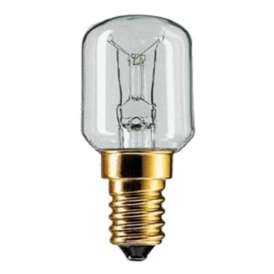 Лампа Philips T22 15W 230V E14 t=300*C for ovensЛампы для духовки<br>В интернет-магазине «Светодом» можно купить не только люстры и светильники, но и лампочки. В нашем каталоге представлены светодиодные, галогенные, энергосберегающие модели и лампы накаливания. В ассортименте имеются изделия разной мощности, поэтому у нас Вы сможете приобрести все необходимое для освещения.   Лампа Philips T22 15W 230V E14 t=300*C for ovens обеспечит отличное качество освещения. При покупке ознакомьтесь с параметрами в разделе «Характеристики», чтобы не ошибиться в выборе. Там же указано, для каких осветительных приборов Вы можете использовать лампу Philips T22 15W 230V E14 t=300*C for ovensPhilips T22 15W 230V E14 t=300*C for ovens.   Для оформления покупки воспользуйтесь «Корзиной». При наличии вопросов Вы можете позвонить нашим менеджерам по одному из контактных номеров. Мы доставляем заказы в Москву, Екатеринбург и другие города России.<br><br>Тип цоколя: E14<br>MAX мощность ламп, Вт: 15<br>Диаметр, мм мм: 22<br>Высота, мм: 49<br>Оттенок (цвет): Прозрачный
