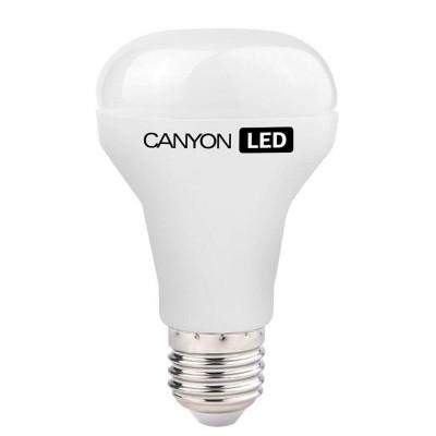 Светодиодная лампа CANYON R63E27FR10W230VNЗеркальные E27, E14<br>В интернет-магазине «Светодом» можно купить не только люстры и светильники, но и лампочки. В нашем каталоге представлены светодиодные, галогенные, энергосберегающие модели и лампы накаливания. В ассортименте имеются изделия разной мощности, поэтому у нас Вы сможете приобрести все необходимое для освещения.   Лампа Canyon R63E27FR10W230VN обеспечит отличное качество освещения. При покупке ознакомьтесь с параметрами в разделе «Характеристики», чтобы не ошибиться в выборе. Там же указано, для каких осветительных приборов Вы можете использовать лампу Canyon R63E27FR10W230VNCanyon R63E27FR10W230VN.   Для оформления покупки воспользуйтесь «Корзиной». При наличии вопросов Вы можете позвонить нашим менеджерам по одному из контактных номеров. Мы доставляем заказы в Москву, Екатеринбург и другие города России.<br><br>Рекомендуемые колбы ламп: R63<br>Цветовая t, К: 4000<br>Тип лампы: LED - светодиодная<br>Тип цоколя: E27<br>MAX мощность ламп, Вт: 10<br>Диаметр, мм мм: 63<br>Длина, мм: 107<br>Общая мощность, Вт: эквивалент лампы накаливания 64 Ватт