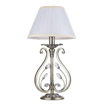 Светильник Maytoni RC109-TL-01-RКлассические<br>Настольная лампа – это не просто источник дополнительного освещения, но и оригинальный элемент декора. Его можно установить в спальне, гостиной, кабинете и других комнатах. Интернет-магазин «Светодом» предлагает настольные лампы разных стилей по доступным ценам. Благодаря большому ассортименту Вы обязательно найдете в нашем каталоге именно ту модель, которую искали. <br> Настольная лампа Maytoni RC109-TL-01-R – прекрасный вариант для завершения интерьера. Ее можно включить одновременно с люстрой для более яркого освещения или без нее для создания уютной атмосферы, настраивающей на отдых. <br> Купить настольную лампу Maytoni RC109-TL-01-R Вы можете с помощью виртуальной «Корзины» или по контактным номерам, указанным на сайте.<br><br>Тип лампы: Накаливания / энергосбережения / светодиодная<br>Тип цоколя: E14<br>Цвет арматуры: бронзовый<br>Количество ламп: 1<br>Диаметр, мм мм: 255<br>Высота, мм: 480<br>MAX мощность ламп, Вт: 60