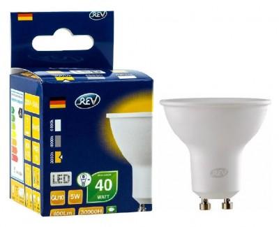 Лампа светодиодная REV 32329 7 LED PAR16 GU10 5W 420Лм, 4000K, холодный светЗеркальные Gu10<br>В интернет-магазине «Светодом» можно купить не только люстры и светильники, но и лампочки. В нашем каталоге представлены светодиодные, галогенные, энергосберегающие модели и лампы накаливания. В ассортименте имеются изделия разной мощности, поэтому у нас Вы сможете приобрести все необходимое для освещения.   Лампа REV 32329 7 LED PAR16 GU10 5W 420Лм, 4000K, холодный свет обеспечит отличное качество освещения. При покупке ознакомьтесь с параметрами в разделе «Характеристики», чтобы не ошибиться в выборе. Там же указано, для каких осветительных приборов Вы можете использовать лампу REV 32329 7 LED PAR16 GU10 5W 420Лм, 4000K, холодный светREV 32329 7 LED PAR16 GU10 5W 420Лм, 4000K, холодный свет.   Для оформления покупки воспользуйтесь «Корзиной». При наличии вопросов Вы можете позвонить нашим менеджерам по одному из контактных номеров. Мы доставляем заказы в Москву, Екатеринбург и другие города России.<br><br>Цветовая t, К: CW - холодный белый 4000 К<br>Тип лампы: LED - светодиодная<br>Тип цоколя: GU10<br>MAX мощность ламп, Вт: 5