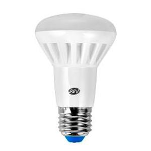 Лампа светодиодная REV 32334 1 LED R63 Е27 5W 420Лм, 2700K, теплый светЗеркальные E27, E14<br><br><br>Цветовая t, К: WW - теплый белый 2700-3000 К<br>Тип лампы: LED - светодиодная<br>Тип цоколя: E27<br>MAX мощность ламп, Вт: 5