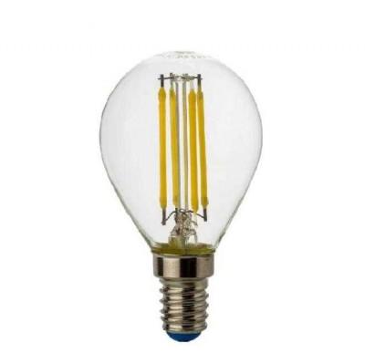 Лампа светодиодная REV 32358 7 LED G45 E14 5W 480Лм, 4000K, PREMIUM (FILAMENT), холодный светВ виде шарика<br><br><br>Цветовая t, К: CW - холодный белый 4000 К<br>Тип лампы: LED - светодиодная<br>Тип цоколя: E14<br>MAX мощность ламп, Вт: 5