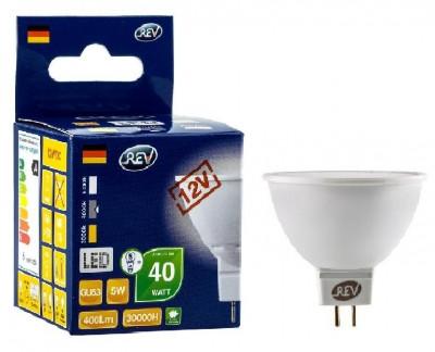 Лампа светодиодная REV 32369 3 LED MR16 GU5.3 3W 250Лм, 3000K, теплый свет, 12VЗеркальные MR16 - 5.3<br>В интернет-магазине «Светодом» можно купить не только люстры и светильники, но и лампочки. В нашем каталоге представлены светодиодные, галогенные, энергосберегающие модели и лампы накаливания. В ассортименте имеются изделия разной мощности, поэтому у нас Вы сможете приобрести все необходимое для освещения.   Лампа REV 32369 3 LED MR16 GU5.3 3W 250Лм, 3000K, теплый свет, 12V обеспечит отличное качество освещения. При покупке ознакомьтесь с параметрами в разделе «Характеристики», чтобы не ошибиться в выборе. Там же указано, для каких осветительных приборов Вы можете использовать лампу REV 32369 3 LED MR16 GU5.3 3W 250Лм, 3000K, теплый свет, 12VREV 32369 3 LED MR16 GU5.3 3W 250Лм, 3000K, теплый свет, 12V.   Для оформления покупки воспользуйтесь «Корзиной». При наличии вопросов Вы можете позвонить нашим менеджерам по одному из контактных номеров. Мы доставляем заказы в Москву, Екатеринбург и другие города России.<br><br>Цветовая t, К: WW - теплый белый 2700-3000 К<br>Тип лампы: LED - светодиодная<br>Тип цоколя: gu5.3<br>MAX мощность ламп, Вт: 3<br>Диаметр, мм мм: 50<br>Высота, мм: 48