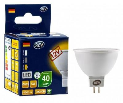Лампа светодиодная REV 32371 6 LED MR16 GU5.3 5W 420Лм, 3000K, теплый свет, 12VЗеркальные MR16 - 5.3<br>В интернет-магазине «Светодом» можно купить не только люстры и светильники, но и лампочки. В нашем каталоге представлены светодиодные, галогенные, энергосберегающие модели и лампы накаливания. В ассортименте имеются изделия разной мощности, поэтому у нас Вы сможете приобрести все необходимое для освещения.   Лампа REV 32371 6 LED MR16 GU5.3 5W 420Лм, 3000K, теплый свет, 12V обеспечит отличное качество освещения. При покупке ознакомьтесь с параметрами в разделе «Характеристики», чтобы не ошибиться в выборе. Там же указано, для каких осветительных приборов Вы можете использовать лампу REV 32371 6 LED MR16 GU5.3 5W 420Лм, 3000K, теплый свет, 12VREV 32371 6 LED MR16 GU5.3 5W 420Лм, 3000K, теплый свет, 12V.   Для оформления покупки воспользуйтесь «Корзиной». При наличии вопросов Вы можете позвонить нашим менеджерам по одному из контактных номеров. Мы доставляем заказы в Москву, Екатеринбург и другие города России.<br><br>Цветовая t, К: WW - теплый белый 2700-3000 К<br>Тип лампы: LED - светодиодная<br>Тип цоколя: gu5.3<br>MAX мощность ламп, Вт: 5