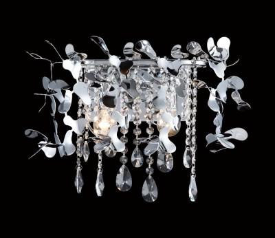 Светильник настенный бра Crystal lux ROMEO AP2 CHROME 2830/402бра флористика и цветы<br>В интернет-магазине «Светодом» представлен широкий выбор настенных бра по привлекательной цене. Это качественные товары от популярных мировых производителей. Благодаря большому ассортименту Вы обязательно подберете под свой интерьер наиболее подходящий вариант.  Оригинальное настенное бра Crystal lux ROMEO AP2 CHROME можно использовать для освещения не только гостиной, но и прихожей или спальни. Модель выполнена из современных материалов, поэтому прослужит на протяжении долгого времени. Обратите внимание на технические характеристики, чтобы сделать правильный выбор.  Чтобы купить настенное бра Crystal lux ROMEO AP2 CHROME в нашем интернет-магазине, воспользуйтесь «Корзиной» или позвоните менеджерам компании «Светодом» по указанным на сайте номерам. Мы доставляем заказы по Москве, Екатеринбургу и другим российским городам.<br><br>Тип цоколя: E14<br>Цвет арматуры: Серебристый Серебристый хром<br>Количество ламп: 2<br>Ширина, мм: 350<br>Длина, мм: 350<br>Высота, мм: 180<br>MAX мощность ламп, Вт: 60