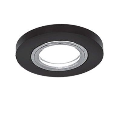Светильник Gauss Mirror RR001 Круг. Кристал черный/Хром, Gu5.3Круглые<br>Встраиваемые светильники – популярное осветительное оборудование, которое можно использовать в качестве основного источника или в дополнение к люстре. Они позволяют создать нужную атмосферу атмосферу и привнести в интерьер уют и комфорт.   Интернет-магазин «Светодом» предлагает стильный встраиваемый светильник Gauss Mirror RR001. Данная модель достаточно универсальна, поэтому подойдет практически под любой интерьер. Перед покупкой не забудьте ознакомиться с техническими параметрами, чтобы узнать тип цоколя, площадь освещения и другие важные характеристики.   Приобрести встраиваемый светильник Gauss Mirror RR001 в нашем онлайн-магазине Вы можете либо с помощью «Корзины», либо по контактным номерам. Мы развозим заказы по Москве, Екатеринбургу и остальным российским городам.<br><br>S освещ. до, м2: 3<br>Тип лампы: галогенная/LED<br>Тип цоколя: GU5.3 (MR16)<br>Количество ламп: 1<br>MAX мощность ламп, Вт: 50<br>Диаметр, мм мм: 90<br>Диаметр врезного отверстия, мм: 70<br>Высота, мм: 25<br>Цвет арматуры: серебристый