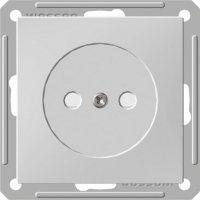 Розетка Wessen 59 с/у без рамки (250В, 16А, с ЗП) матовый хром (RS16-151-5-86)Мат хром<br><br><br>Оттенок (цвет): серебристый