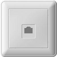 Розетка Wessen 59 с/у КАТ.5Е белый (RSI-152K5E-18)Белый<br><br><br>Тип товара: розетка Int/tel<br>Оттенок (цвет): белый