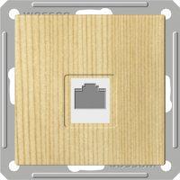 Розетка компьютерная Wessen 59 с/у без рамки КАТ.5Е. сосна (RSI-152K5E-7-86)