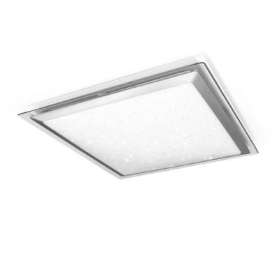 Светильник управляемый Arion 60W RGB S-542-SHINY EstaresКвадратные<br><br><br>Установка на натяжной потолок: да<br>S освещ. до, м2: 24<br>Крепление: планка<br>Тип лампы: LED<br>Ширина, мм: 542<br>Длина, мм: 542<br>Высота, мм: 54<br>MAX мощность ламп, Вт: 60
