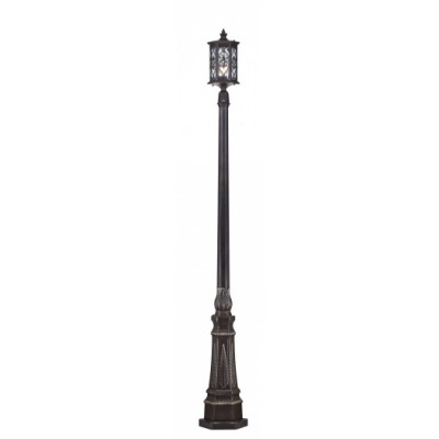 Светильник Maytoni S102-220-61-RБольшие фонари<br>Обеспечение качественного уличного освещения – важная задача для владельцев коттеджей. Компания «Светодом» предлагает современные светильники, которые порадуют Вас отличным исполнением. В нашем каталоге представлена продукция известных производителей, пользующихся популярностью благодаря высокому качеству выпускаемых товаров.   Уличный светильник Maytoni S102-220-61-R не просто обеспечит качественное освещение, но и станет украшением Вашего участка. Модель выполнена из современных материалов и имеет влагозащитный корпус, благодаря которому ей не страшны осадки.   Купить уличный светильник Maytoni S102-220-61-R, представленный в нашем каталоге, можно с помощью онлайн-формы для заказа. Чтобы задать имеющиеся вопросы, звоните нам по указанным телефонам. Мы доставим Ваш заказ не только в Москву и Екатеринбург, но и другие города.<br><br>Тип лампы: Накаливания / энергосбережения / светодиодная<br>Тип цоколя: E27<br>Количество ламп: 1<br>MAX мощность ламп, Вт: 100<br>Диаметр, мм мм: 278<br>Высота, мм: 2209<br>Цвет арматуры: бронзовый